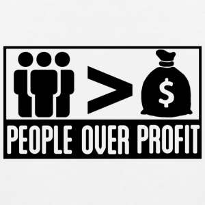 People Over Profit - Men's Premium Tank