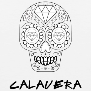 Calavera black - Men's Premium Tank