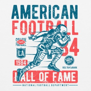 American Football Retro Vintage Distressed Design - Men's Premium Tank