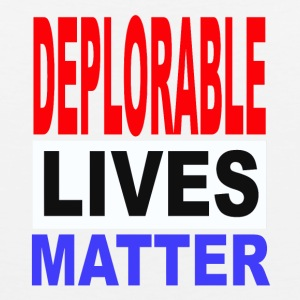 deplorable lives matter one - Men's Premium Tank