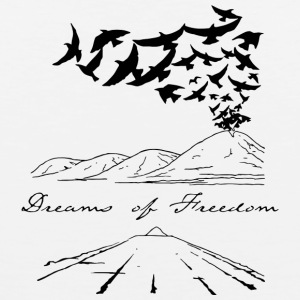 Dreams of Freedom - Men's Premium Tank