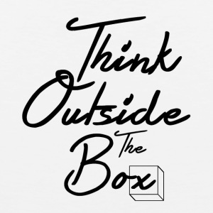 Think Outside The Box - Men's Premium Tank