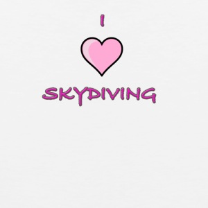 I Love Skydiving/BookSkydive/Perfect Gift - Men's Premium Tank