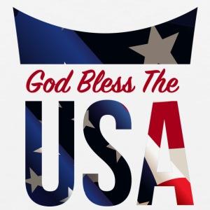 God Bless The USA Veterans T-Shirts - Men's Premium Tank