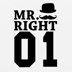 Mr Right 01 - Men's Premium Tank