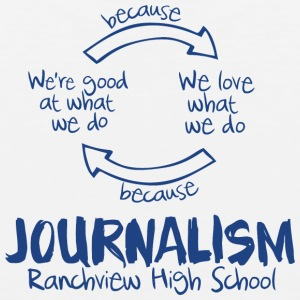 Journalism Ranch view High School - Men's Premium Tank
