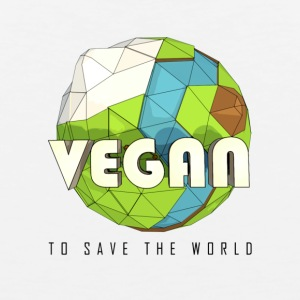 Vegan To Save the World - Men's Premium Tank