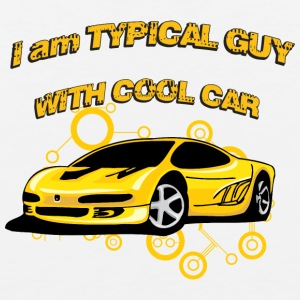 I_am_Typical_guy_with_cool_car - Men's Premium Tank