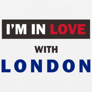 I'm in love with London! - Men's Premium Tank