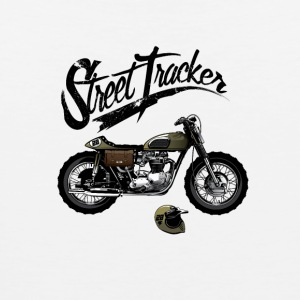 Street Tracker Bike T shirt - Men's Premium Tank
