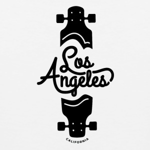 Los Angeles Longboard Skateboard Punk - Men's Premium Tank