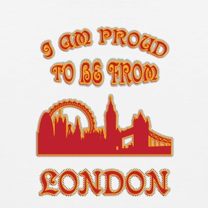 London I am proud to be from - Men's Premium Tank