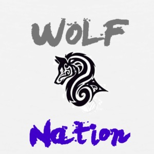 WolfNation size=small - Men's Premium Tank