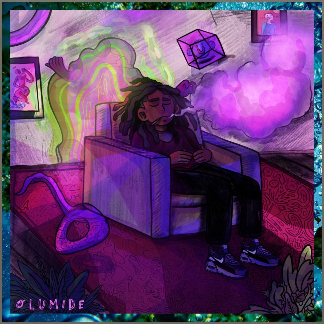 Olumide - Slowed Down & Smoked Out Cover Art