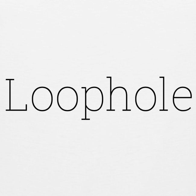 """Loophole"" Abstract Design"