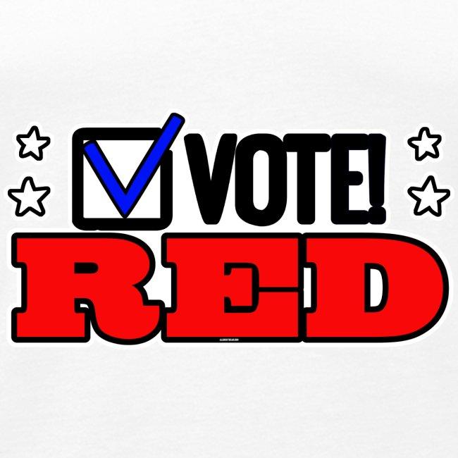 VOTE RED