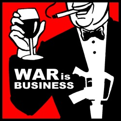 War is business