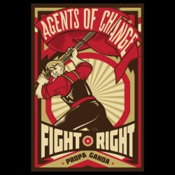 Agents of change - fight right