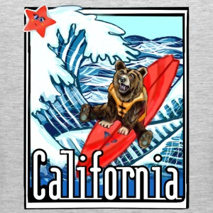California Flag On Vacation - Men's Premium Tank