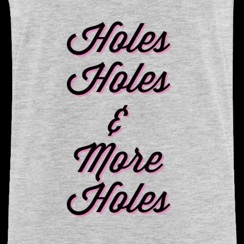 Holes-Holes-Holes - Men's Premium Tank