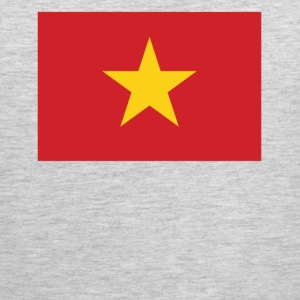 Flag of Vietnam Cool Vietnamese Flag - Men's Premium Tank