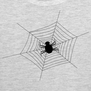 Black Spider Web - Men's Premium Tank