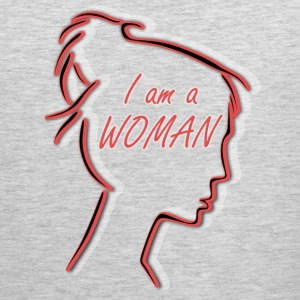 proud to be woman - Men's Premium Tank
