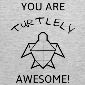 Funny and sweet turle Pun T-shirt design - Men's Premium Tank