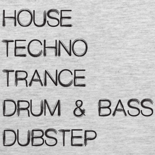 House Techno Trance Drum & Bass Dubstep - Men's Premium Tank