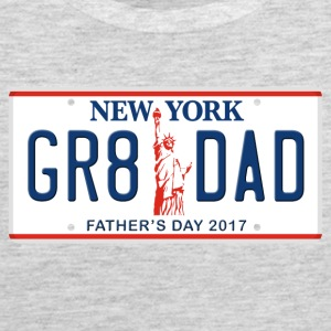 Great Dad - Happy Father's Day - New York - Men's Premium Tank