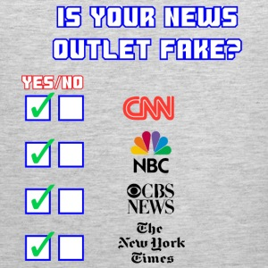 All About Fake News - Men's Premium Tank