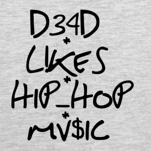 dead_like_hiphop music - Men's Premium Tank