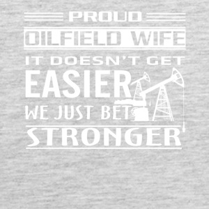 Oilfield Worker Tee Shirt - Men's Premium Tank