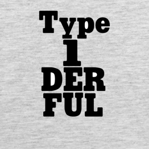 Type One Diabetic Funny Tee Shirt - Men's Premium Tank