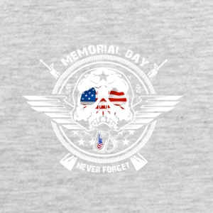 USA Memorial Day Never Forget - Men's Premium Tank