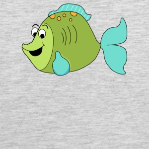 Fish Cartoon - Men's Premium Tank