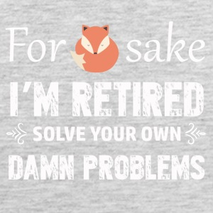 Funny Retired designs - Men's Premium Tank