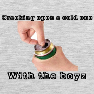 Cracking Open a cold one with the boyz - Men's Premium Tank