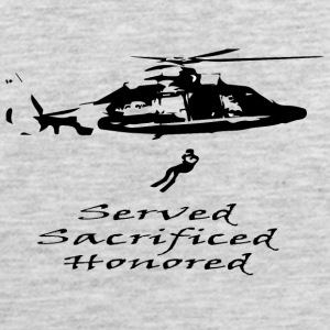 Coast Guard Served Sacrificed Honored - Men's Premium Tank