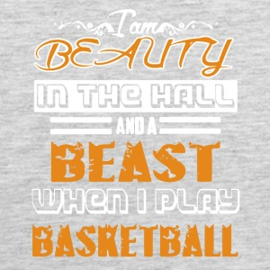 Beauty And The Beast Playing Basketball Shirt - Men's Premium Tank
