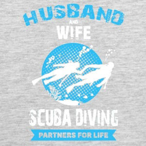 Husband And Wife Scuba Diving Partners Shirts - Men's Premium Tank