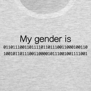 My Gender Is (nonbinary) In Binary - Men's Premium Tank