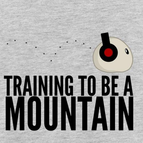 Training To Be A Mountain - Men's Premium Tank