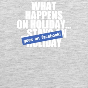 What Happens On Holiday - Men's Premium Tank