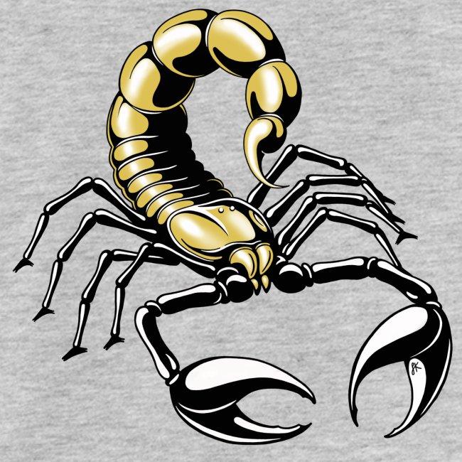scorpion - gold - yellow