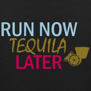 Run Now Tequila Later - Men's Premium Tank