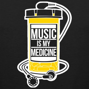 Music is my medicine - Men's Premium Tank
