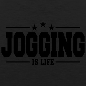 Jogging is life 1 - Men's Premium Tank