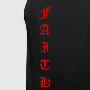 Faith Text - Men's Premium Tank