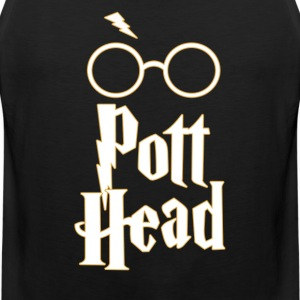 Pott Head - Harry Potter Fan Shirt Design - Men's Premium Tank